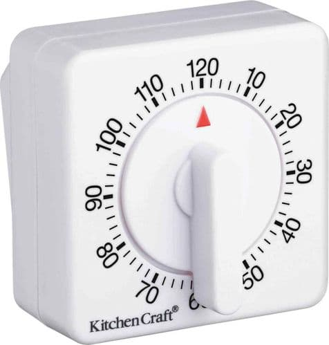 KitchenCraft Two Hour Mechanical Timer